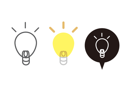 Idea flash icon 1