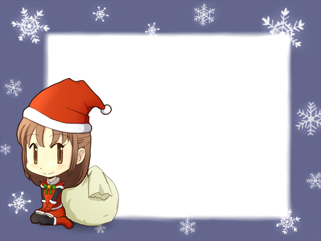 Christmas message card 1