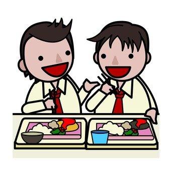 少年和當天的高中生 - 午休