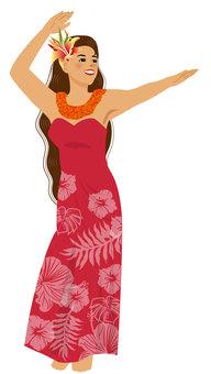 Hula Dance Hula Girl 031