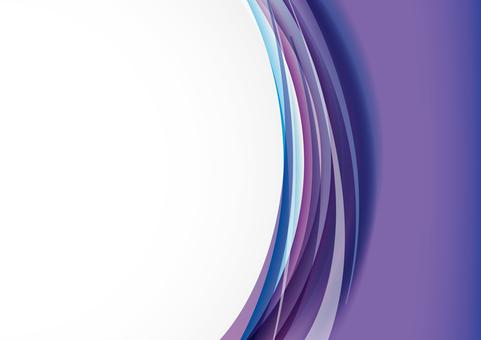 垂直波 - 紫色