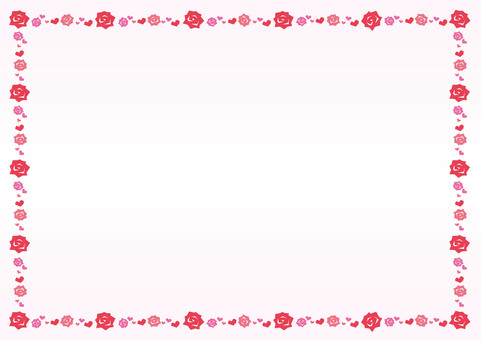 Mother's Day ☆ Carnation Flower Frame Background