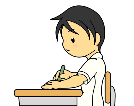 Male student to study