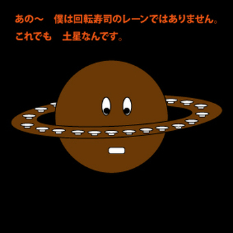 Is it Saturn?