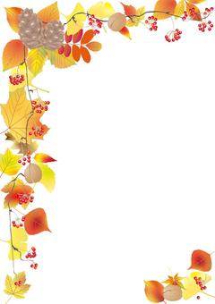 Fallen leaf plate _ vertical size