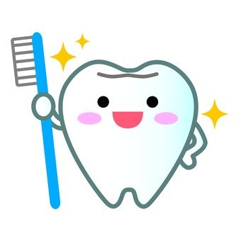 Tooth mascot (shiny)