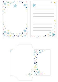 Letter Set Star