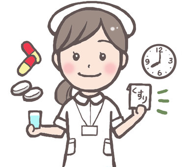Nurse illustration 3 (drugs)