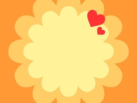背景·快樂(橙色)