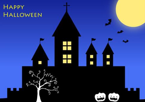Halloween · night castle