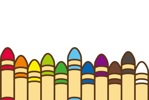 Crayon illustration