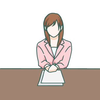Female Newscaster
