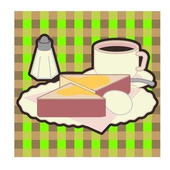 麵包和咖啡