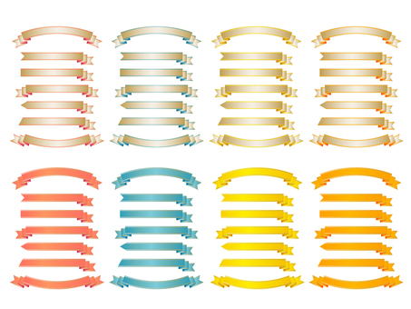 Formal ribbon set pattern 4