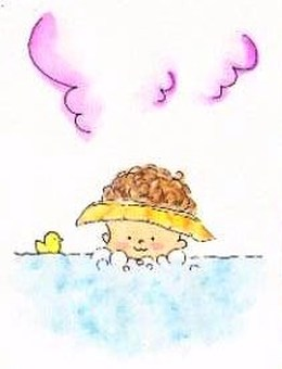 * 목욕 첨벙 첨벙 *