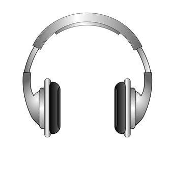 Headphone (silver)