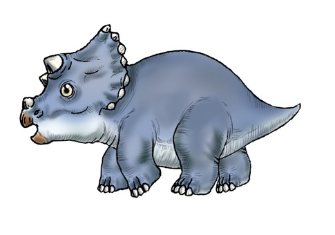 Child of Triceratops