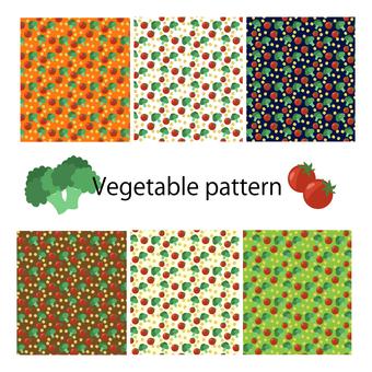 Swatch pattern vegetable