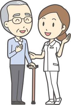 看護師と会話-022-全身