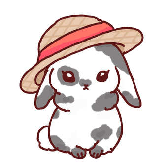 Straw Hat Rabbit (Lop Ear)