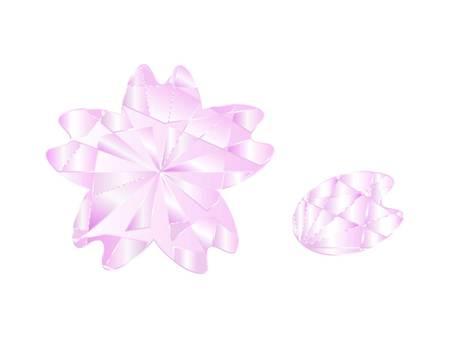 Cherry-shaped gems