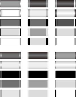 Horizontal title frame monochrome series 2