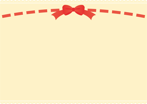 Lace and ribbon background