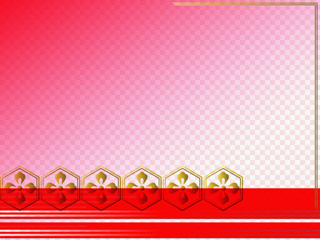 Japanese style checkered colorful background 02
