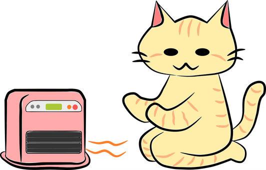 Nyanko oil fan heater