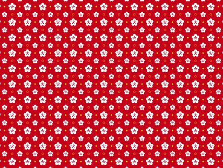 Plum flower pattern 8