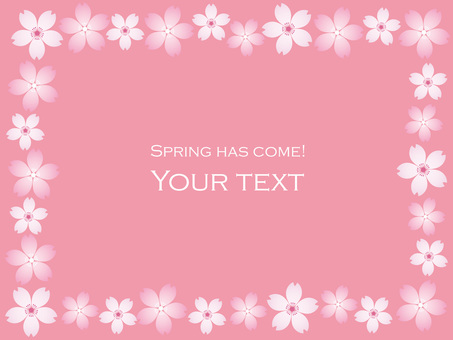 Spring message frame 5