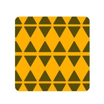 Triangular pattern · tea orange