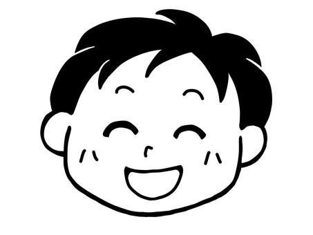 Boys' smile