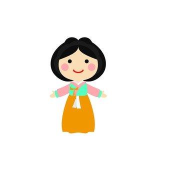 Hanbok women 4