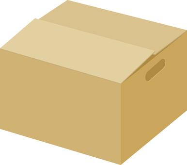 Cardboard box (with handle)