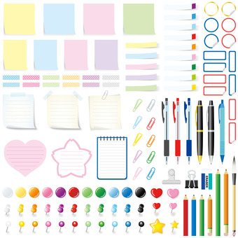 Message stationery set