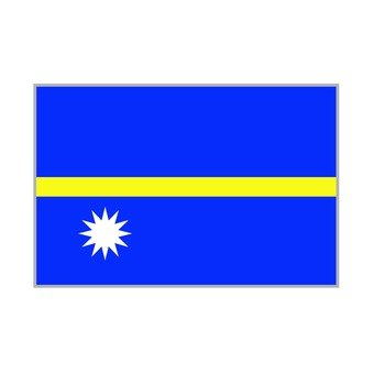 National flag Nauru