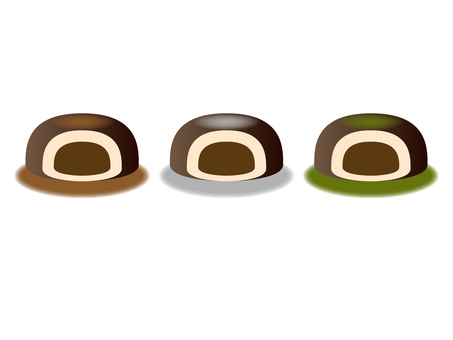 Chocolate Daifuku