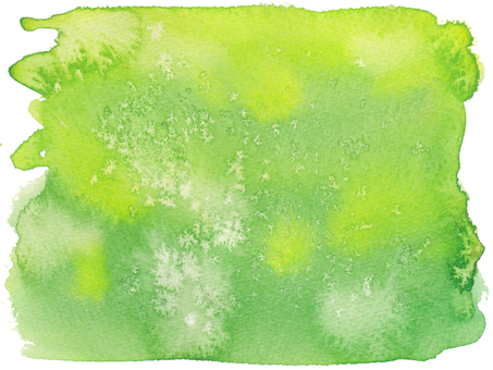 Watercolor background -20-green