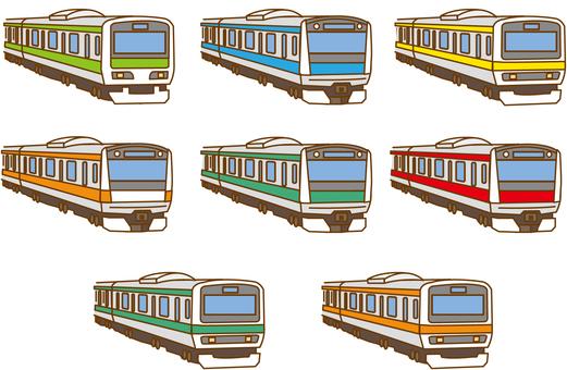 首都圏 電車 各路線