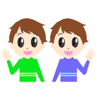 Boys · Twins ②