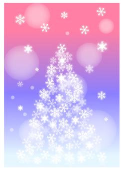 Snow tree 4