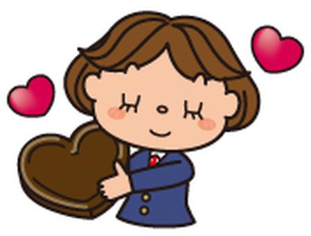 Valentine's girls high school student 1