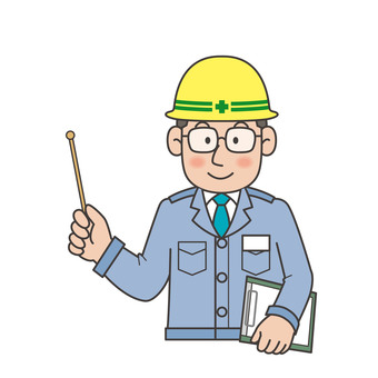 Construction industry civil engineering construction site illustration