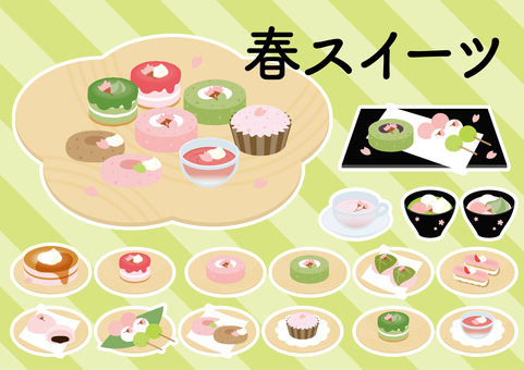 Spring sweets variety set