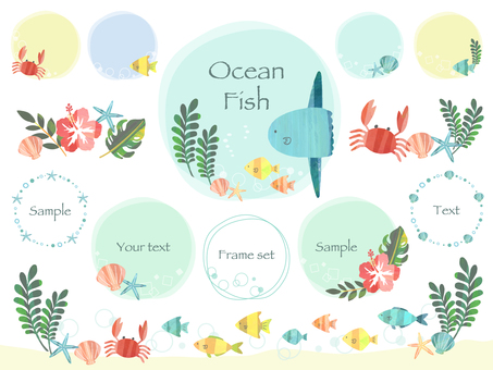 Fish frame set