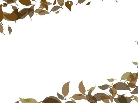 Dead leaf frame