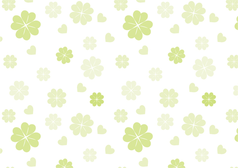 Background pattern pattern clover green wallpaper