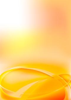 橙色流線抽象背景素材