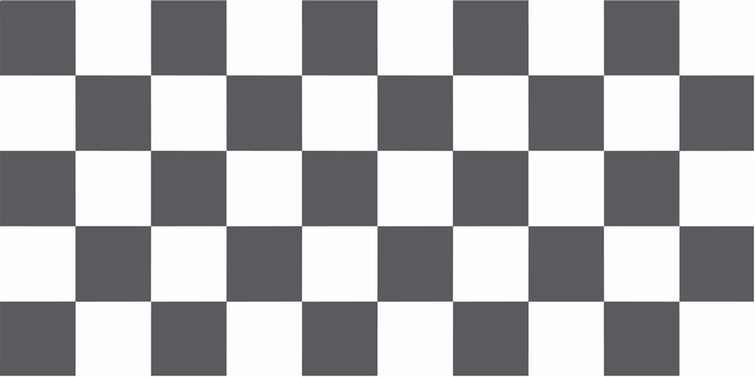 Checkered pattern white and gray